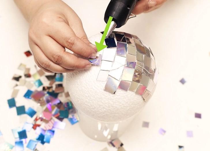 Мастер-класс диско-шар