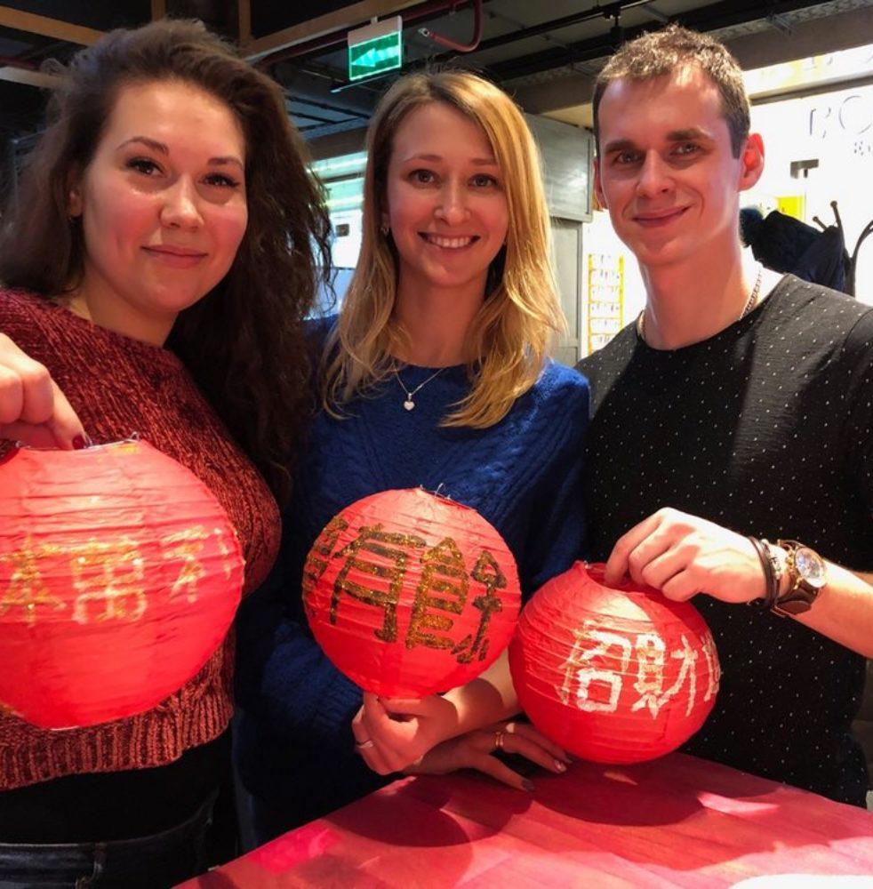 китайские фонарики выездной мастер-класс