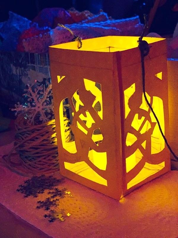 вальдорфские фонарики