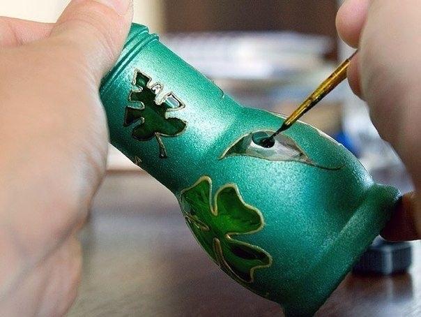 Мастер-класс по росписи ваз