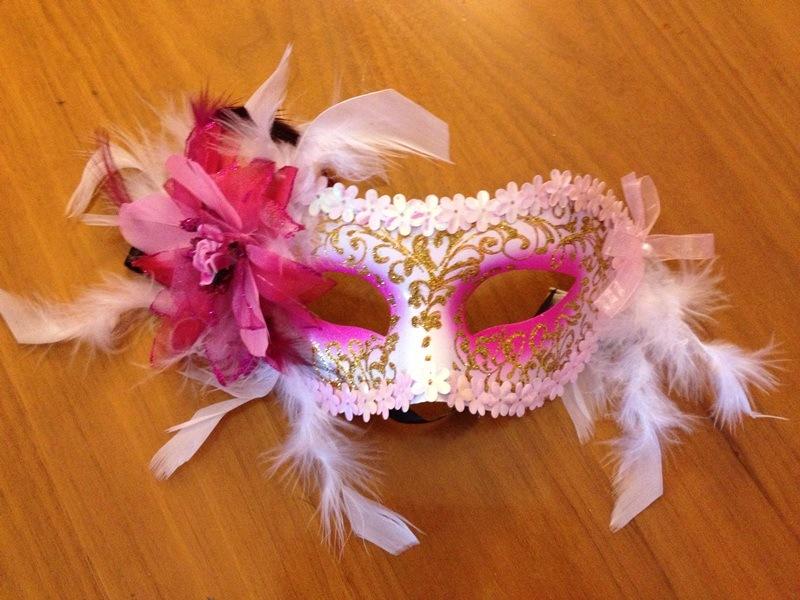 декорирование карнавальной маски