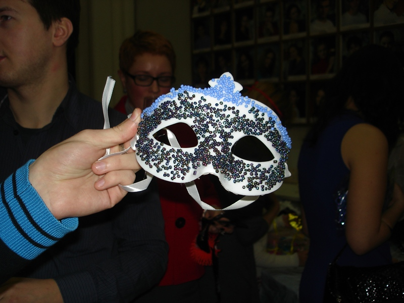 Мастер-класс по созданию маски