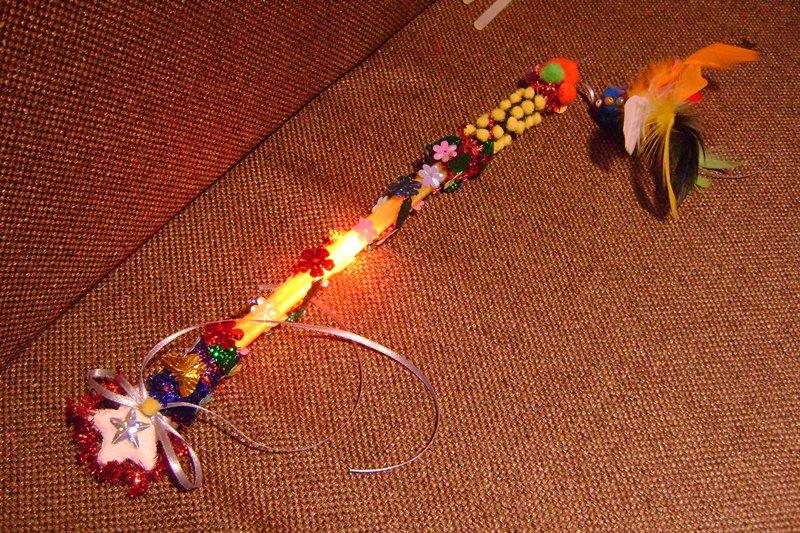 Мастер-класс по декорированию волшебных палочек