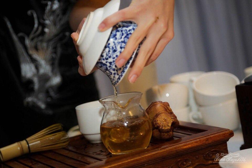мастер-класс по чайной церемонии