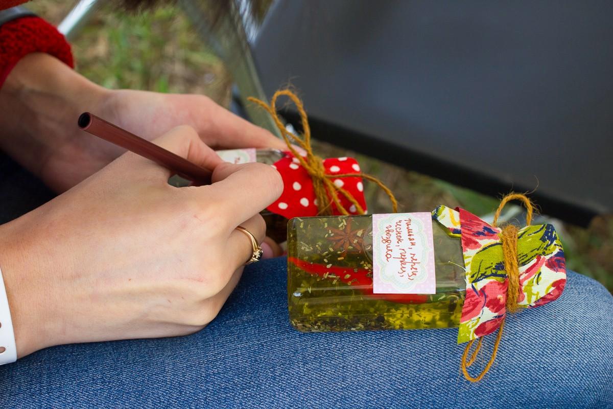 масло оливковое со специями